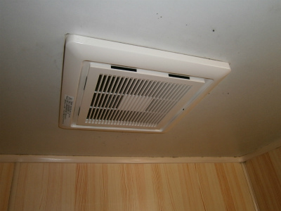 名古屋市南区 浴室換気扇取替工事