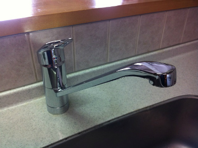 キッチン・洗面水栓取替工事