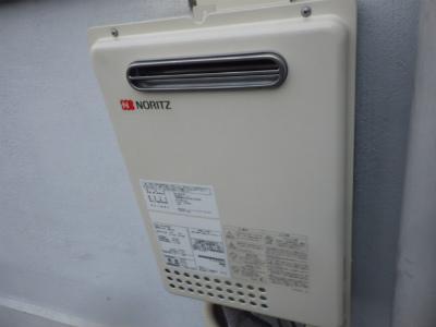 名古屋市天白区 ガス給湯専用 給湯器取替工事