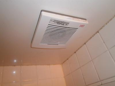 一宮市 浴室換気扇取替工事
