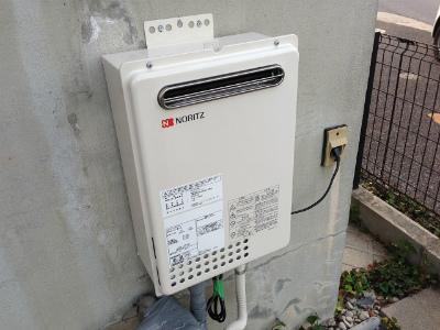 名古屋市守山区 ガス給湯専用給湯器取替工事