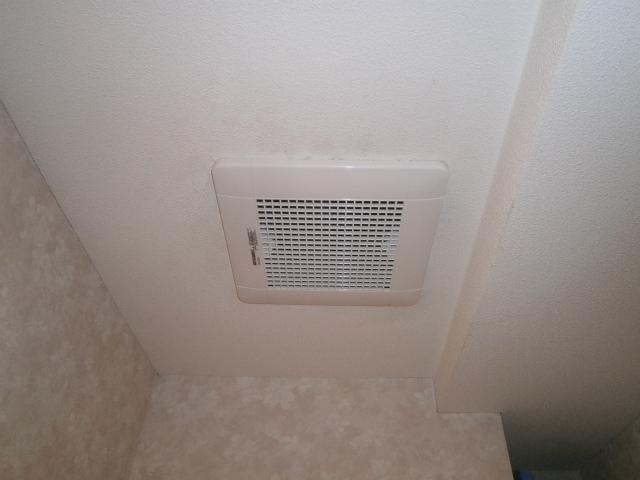 トイレ換気扇取替工事
