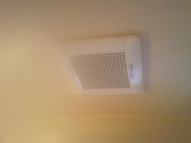 浴室換気扇取替工事