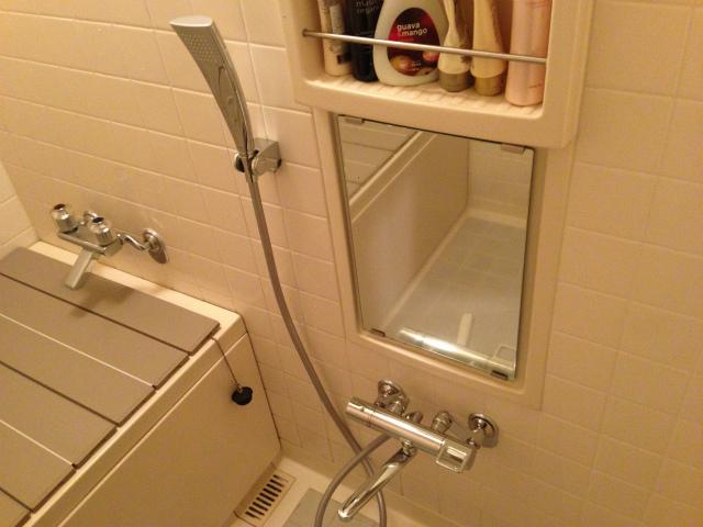 名古屋市昭和区 洗面・浴室水栓取替工事