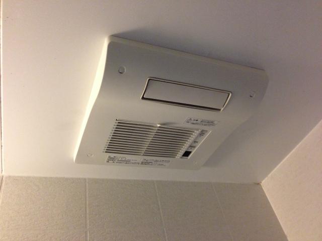 多治見市 浴室暖房換気扇取替工事