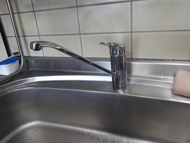 キッチン水栓取替工事(春日井市)