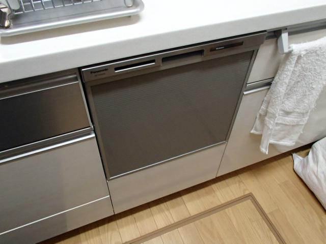 ビルトイン食洗機新設工事(高浜市)