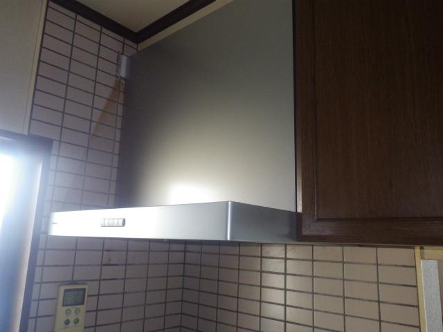 レンジフード取替工事 (北名古屋市)