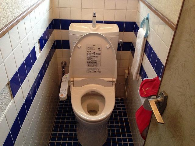 トイレ取替工事(愛知県みよし市)