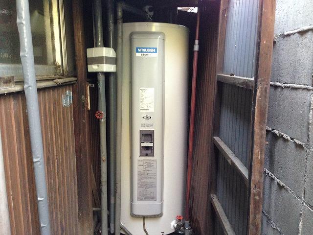 電気温水器取替工事(名古屋市西区)