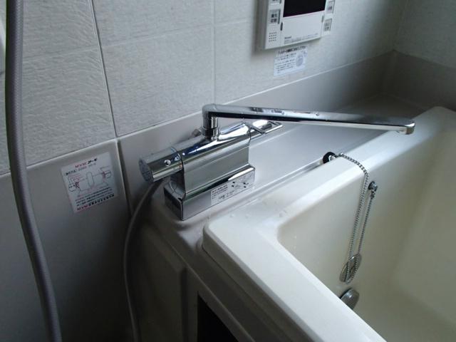 浴室シャワー水栓取替工事(瀬戸市)