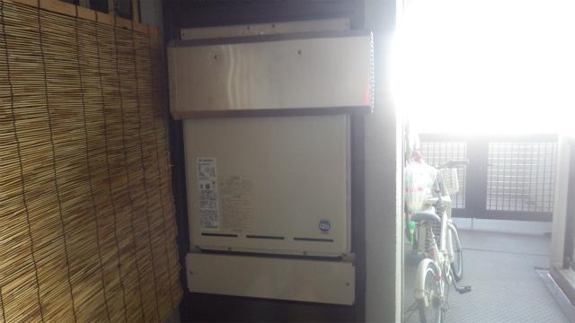 熱源から給湯器へ・・・貴女の心を温めます。(愛知県海部郡)