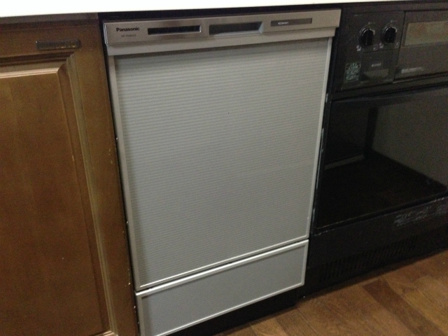 東芝 DW-B45C1 から パナソニック NP-45MD6S へ食洗機取替工事(名古屋市天白区)