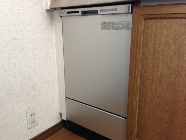 買い替え専用! パナソニック NP-45MC6T 食洗機取替工事 (一宮市)
