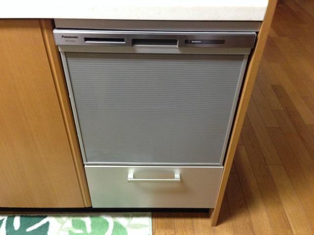 トップオープン食洗機からビルトインへ取替!キャビネット付!(名古屋市天白区)