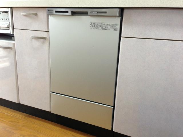 パナソニック NP-45MC6T 買い替え専用タイプ 食洗機取替工事(名古屋市名東区)
