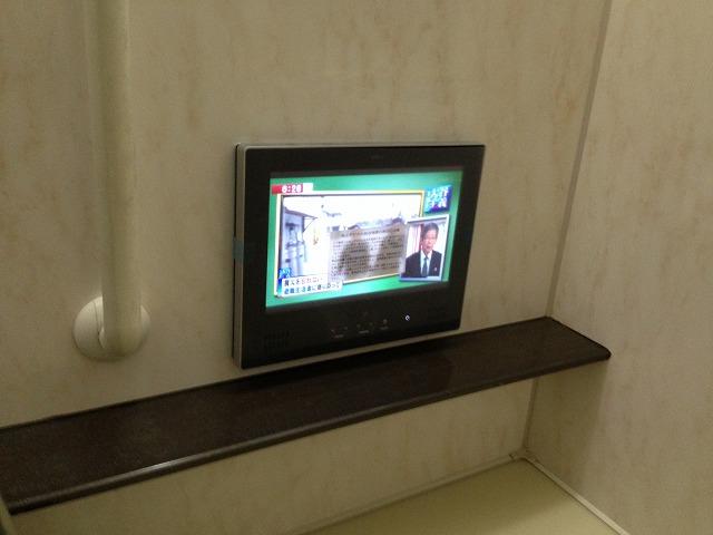 高浜市浴室テレビ取替工事(高浜市)