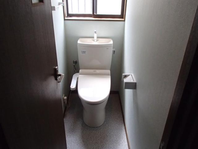 トイレリフォーム工事(関市)
