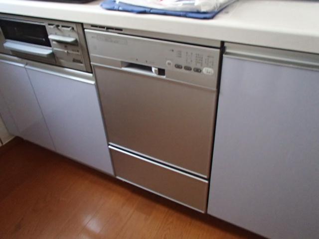 ビルトイン食洗機新設工事(岡崎市)