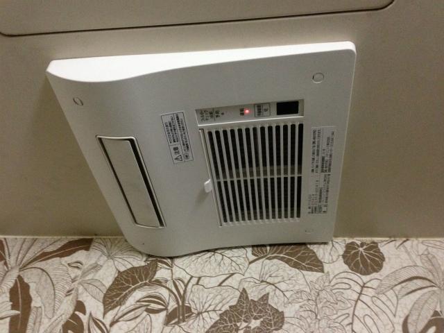パナソニック FY-13UG5V 換気扇から交換 浴室暖房乾燥機取替工事(豊明市)