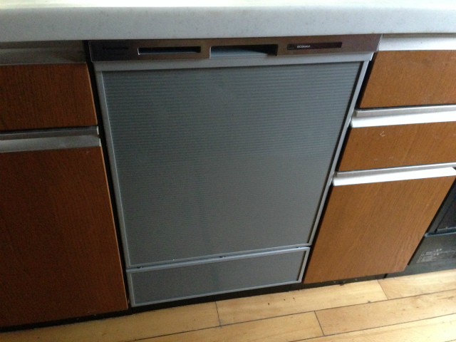 パナソニック NP-45MD6S ディープタイプ ビルトイン食洗機取替工事(春日井市)
