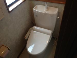 トイレ取替工事(名古屋市天白区)
