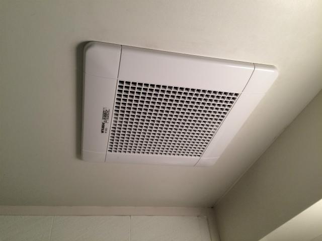 三菱 浴室換気扇取替工事(名古屋市東区)