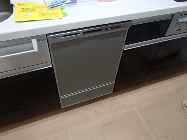 食洗機新設工事(刈谷市)