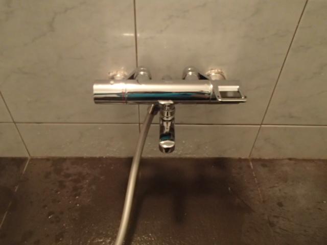 浴室水栓取替工事(春日井市)