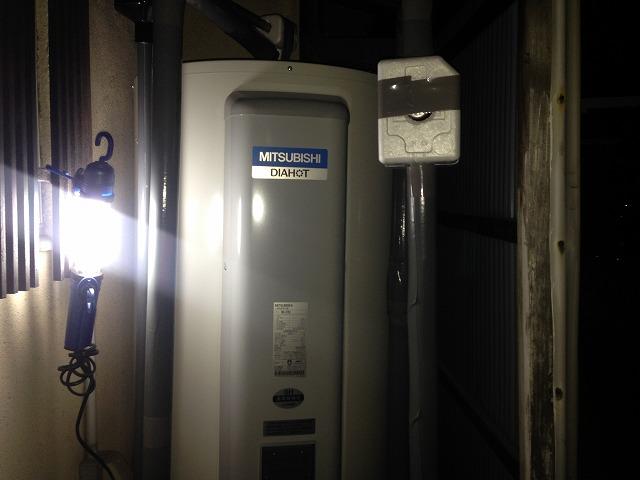 電気温水器取替工事(日進市)