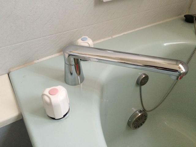 浴室水栓取替工事(千種区)