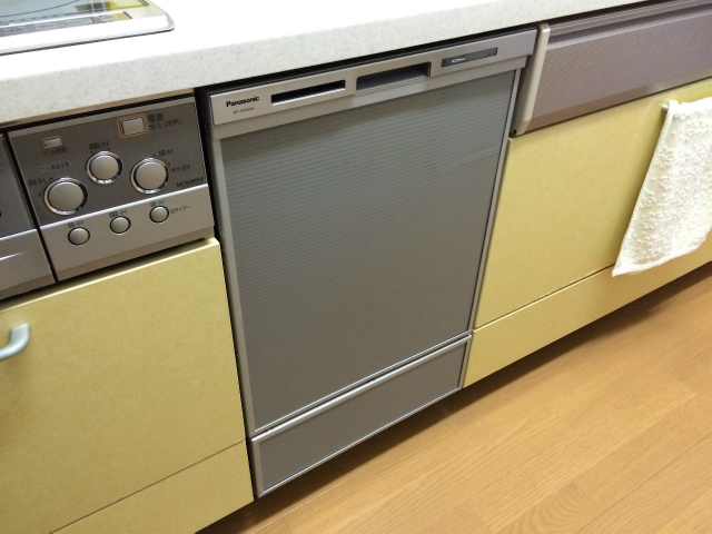 ビルトイン食洗機取替工事(名古屋市西区笹塚町)