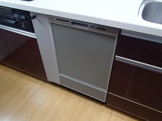 ビルトイン食洗機新設工事(春日井市美濃町)