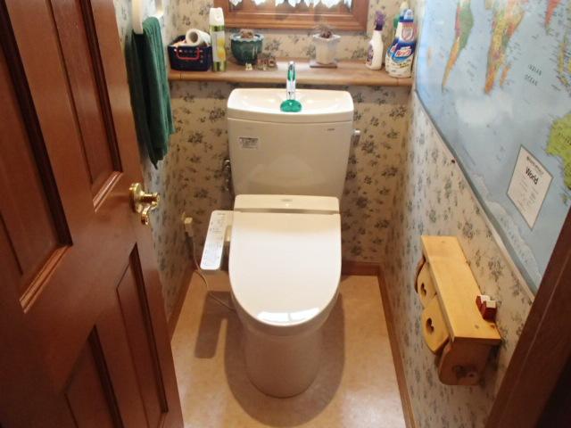 トイレ取替工事(長久手市西浦)