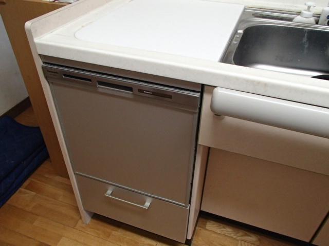津島市高屋敷でトップオープンの食洗機をパナソニック(panasonic)ビルトインに交換