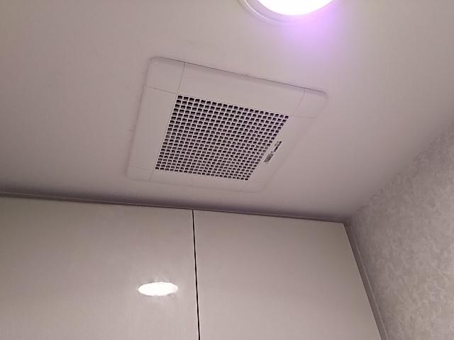 川崎市高津区で異音がするトイレ換気扇を三菱電機VD-13ZC9に取替工事